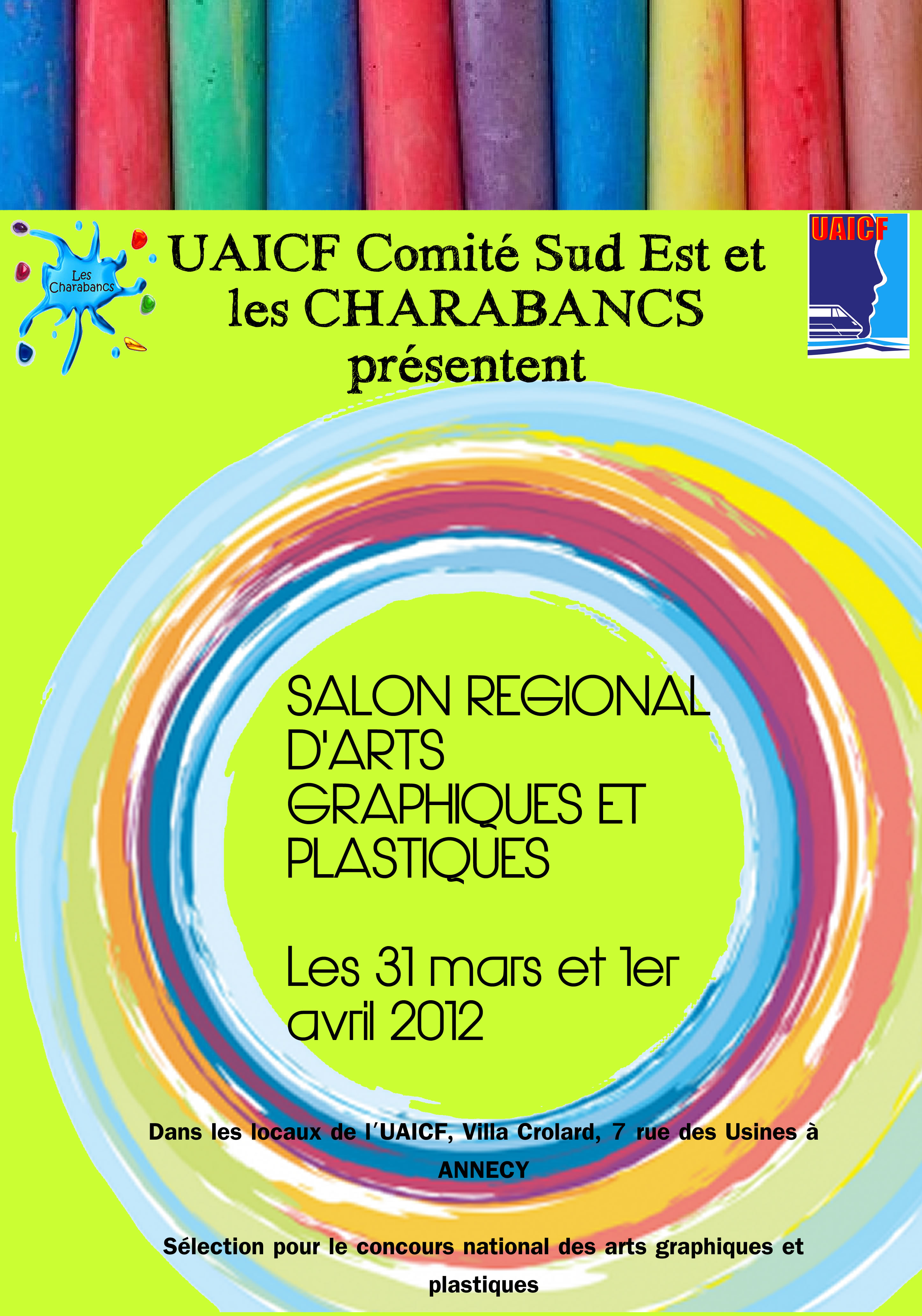 UAICF Charabancs salon d'arts graphique